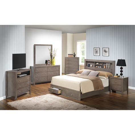 bedroom furniture storage glory furniture storage panel customizable bedroom set reviews wayfair