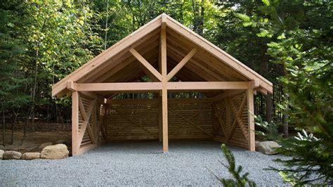 wood carport kits canada