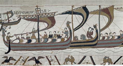 Histoire De La Tapisserie De Bayeux by Une R 233 Plique Exacte De La Tapisserie De Bayeux En Angleterre