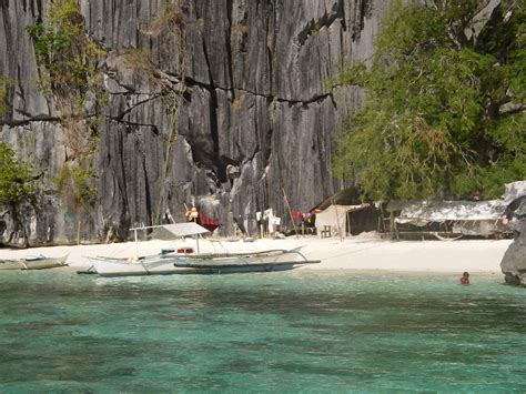 Guest Houses by Coron Island Calamian Islands Palawan Philippines Photo