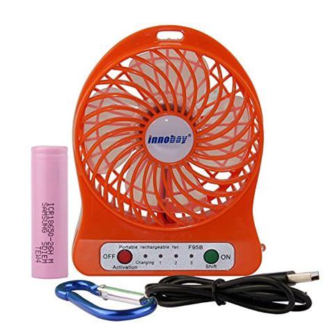 4 personal rechargeable fan innobay 4 inch portable personal fan rechargeable battery