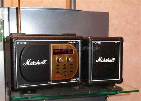 Ure Evoke 1xt Marshall Edition Dab Digital Radio For Aspiring Air Guitarists Everywhere evoke 1xt marshall edition dab radio audio visual