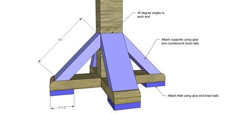 plans to build build a coat rack post designs by studio c