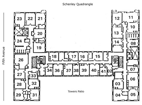 holland hall floor plan university of pittsburgh housing services