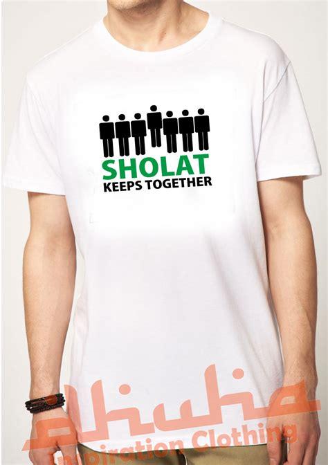 Kaos Distro Together kaos muslim sholat keeps together grosir kaos muslim dhuha clothing