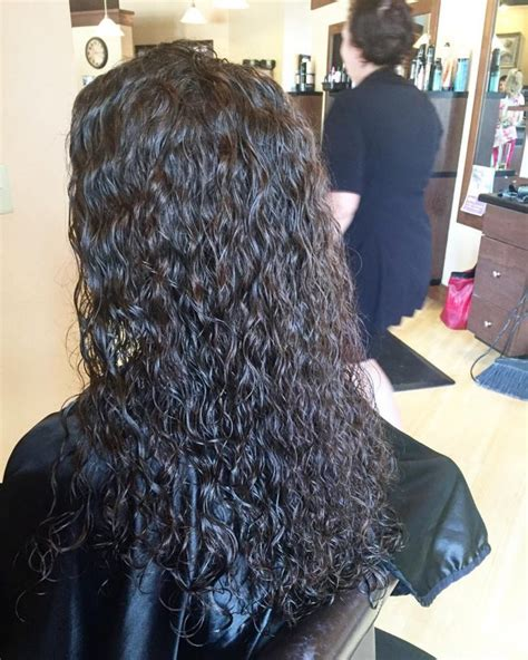 hair how to loosen perm long and loose spiral perm curls my hair pinterest