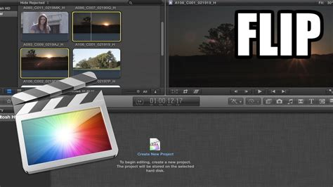 final cut pro rotate video final cut pro x 26 flip horizontal vertical youtube