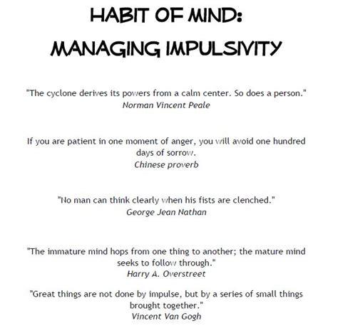 Managing Impulsivity Worksheets by Aspire Managing Impulsivity