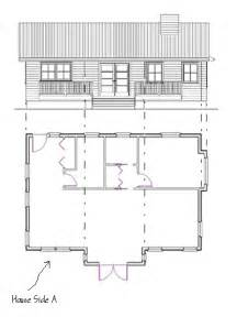 Elevation And Floor Plan Of A House by How To Draw Elevations