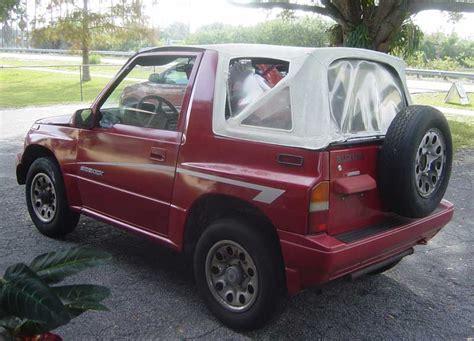 Suzuki Sidekick Convertible 1991 Suzuki Sidekick Pictures Cargurus