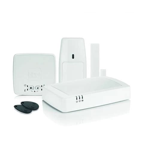 honeywell honeywell connected wireless home alarm with