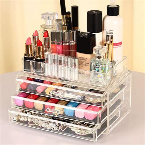 lipstick drawer organizer uk cosmetic organizer drawer clear acrylic jewellery box