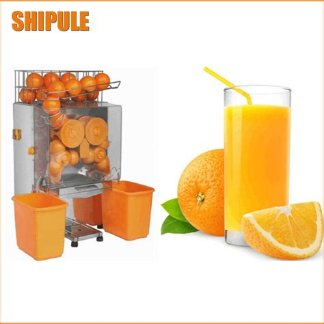 Juicer Automatic 7 In 1 superdeals free shipping commercial orange lemon
