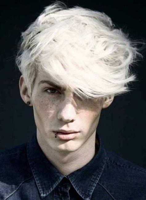 guy celebs with light hair platinum blonde men hairstyle 2013 summer hair color