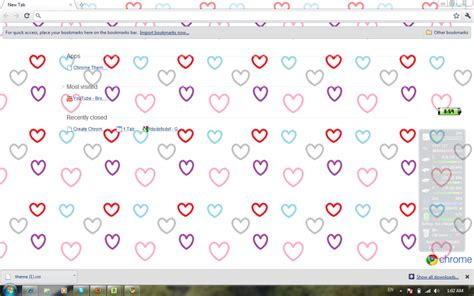 romantic themes for google chrome 14 fun and romantic google chrome heart themes for
