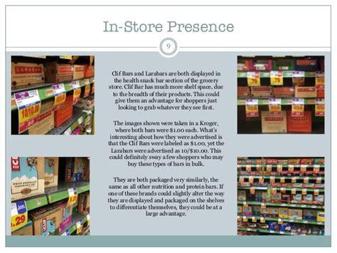 Clif Bar Shelf by Clif Bar Vs Larabar Brand Comparison