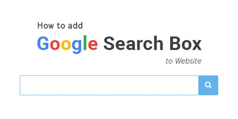 Website Search How To Add Search Box To Website