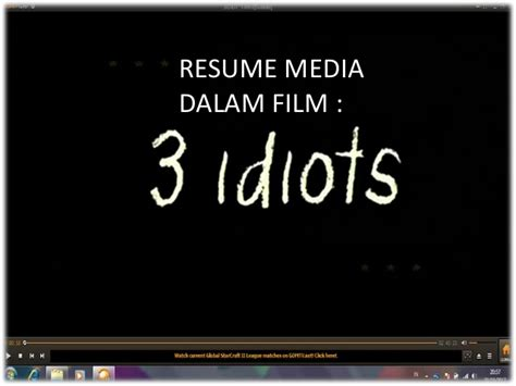 film adalah media komunikasi hubungan film 3 idiots dengan media komunikasi