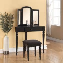 Walmart Com Home Decor Linon Home Decor Corner Vanity Black Walmart Com