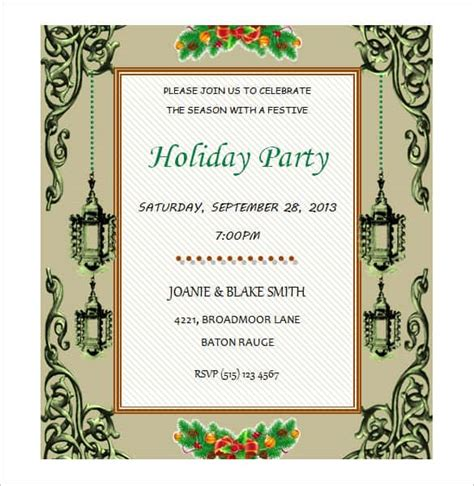 Invitation Templates For Microsoft Word 69 Microsoft Invitation Templates Word Free Premium Templates