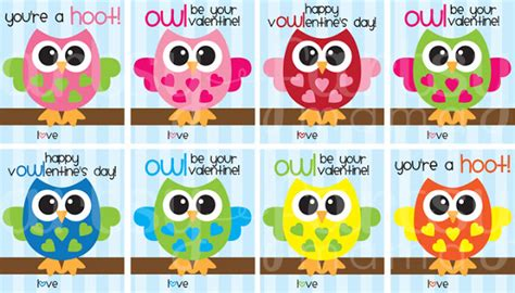 printable owl holding a card from template large free printable owl valentines artsy fartsy