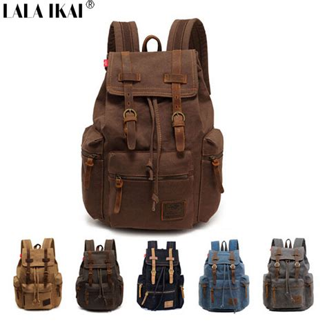 Tas Ransel Vintage Vv Fashion Vintage Backpack Black l 1039 fashion wholesale retail retro and backpack canvas backpack multi color leisure