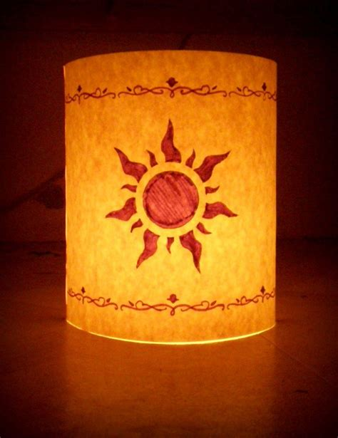 How To Make Paper Lanterns Like In Tangled - lanterns from tangled lantern disney tangled by