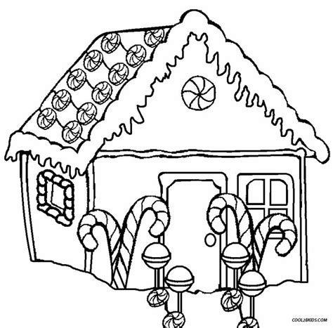 Free Coloring Pages Of Gingerbread Houses Free Gingerbread Coloring Pages