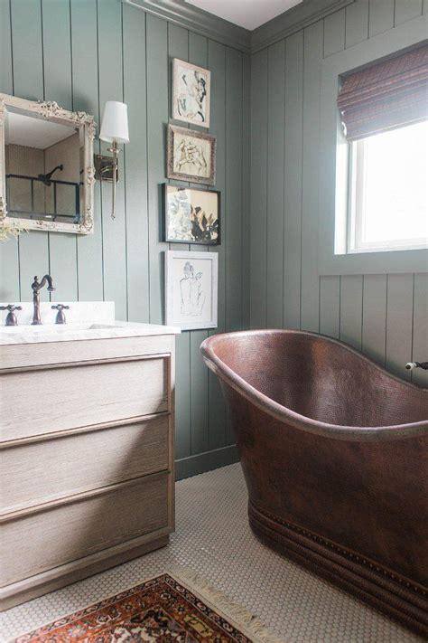 unique warm master bathroom reveal master bathroom