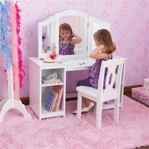 Vanity Table Chairs by Vanity Dressing Table Chair White Mirror Desk Storage