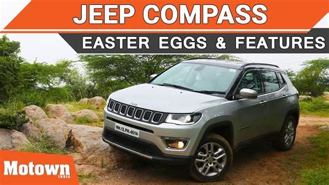 jeep easter eggs jeep compass easter eggs offroading features we liked