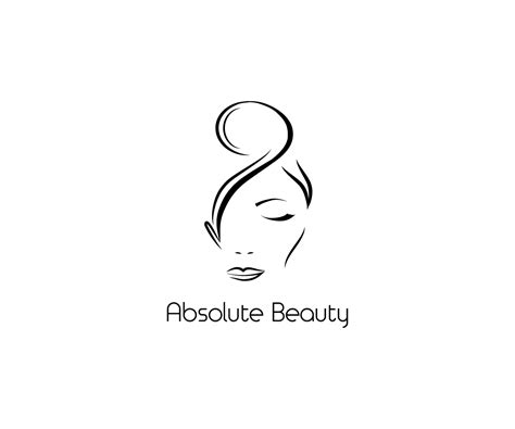 design logo hair salon modern professional logo design for absolute beauty by