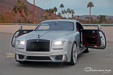 roll royce wraith on rims rolls royce wraith bogota giovanna luxury wheels