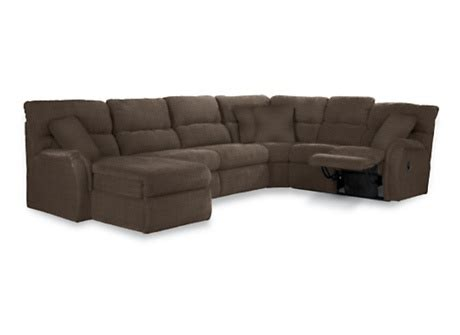 Lazyboy Griffin Sectional With Sleeper Sit Back Relax
