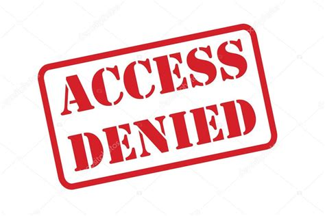denied rubber st access denied rubber st vector a white