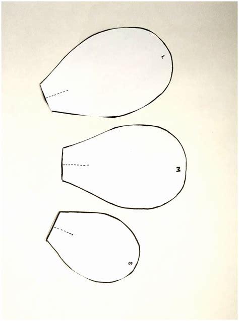 beautiful paper flower template printable gallery resume
