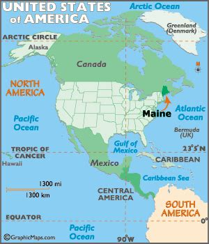 where is maine usa on map maine map geography of maine map of maine worldatlas