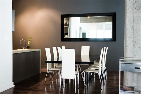 modern designs of mirrors for dining room decoration