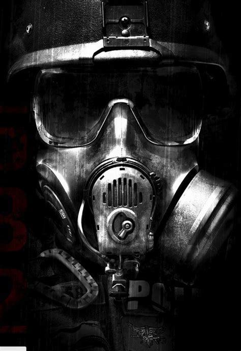 gas mask cyberpunk steampunk apocalypse pinterest