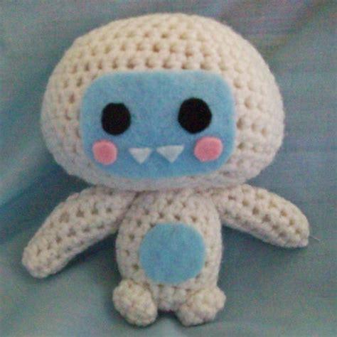 yeti plush pattern by amanda tepie search results for yeti geek crafts