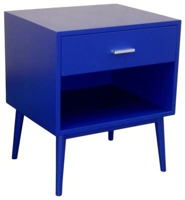 blue accent table threshold blue one drawer accent table modern