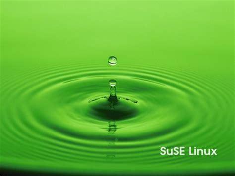 wallpaper free sles green drop suse linux wallpaper linux technology