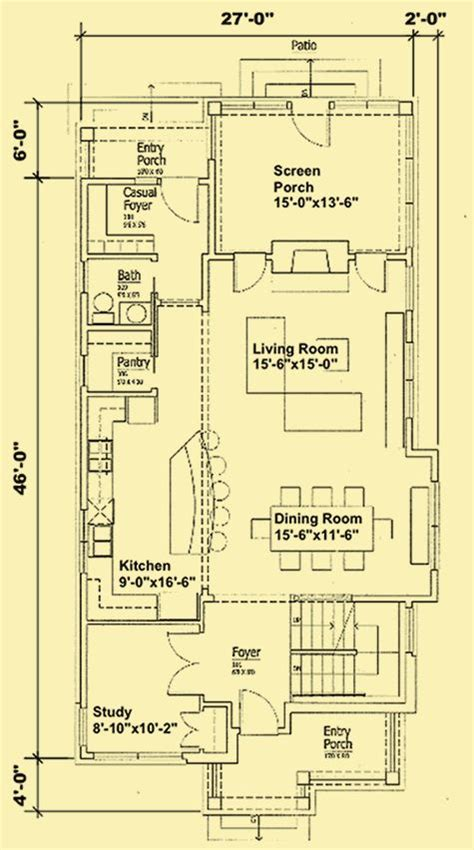 narrow lot house plans with basement 25 best ideas about narrow house plans on