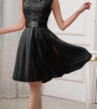 Tas Wanita Korea Murah Bahu Hitam Import dress wanita warna hitam cantik 2015 model terbaru
