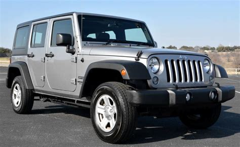 Jeep Right Drive 2014 Jeep Wrangler Unlimited Sport Right Drive Ebay