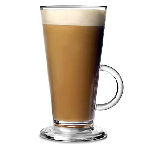 Elite Polycarbonate Latte Glasses Clear 8oz / 230ml   Latte Mugs Plastic Latte Glass   Buy at