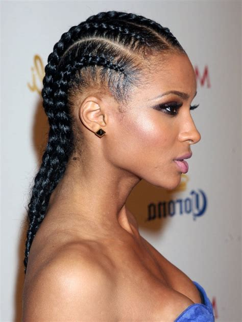 One Braid Black Hairstyles by Best Braids Styles For Black Hairstyles