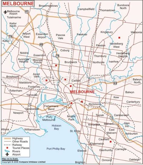suburbs of map melbourne suburbs map