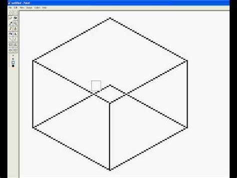 Square 3d pixel basics basic 1 how to make a 3d square