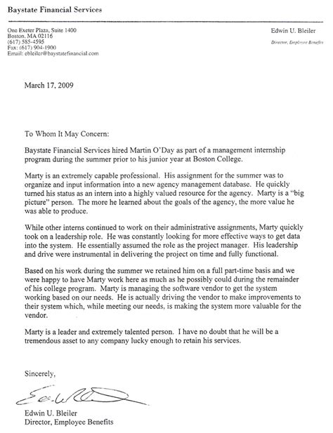 charity reference letter letter of recommendation sle volunteer work